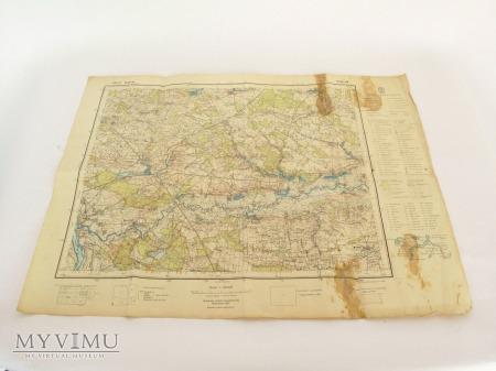 Mapa Deblina i okolic 1: 100 000
