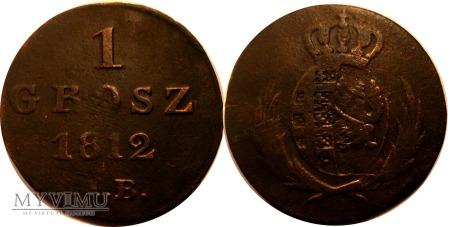 Duże zdjęcie 1 grosz 1812