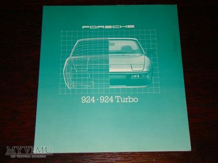 Prospekt PORSCHE 924/924 TURBO