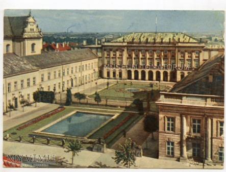 W-wa - Krakowskie Przed.- Pałac Prezydencki 1960