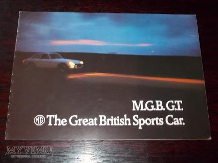 Prospekt MG MGB GT