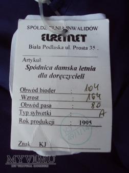 Poczta Polska - mundur kobiecy letni