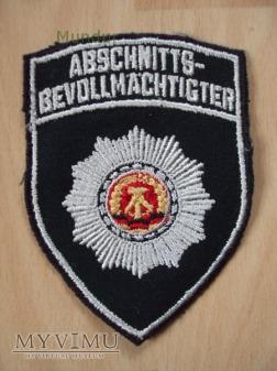 Emblemat: Abschnitts-Bevollmächtigter