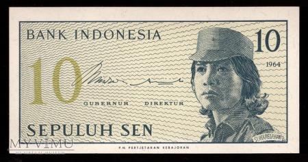 Indonezja, 10 SEN 1964r