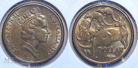 Australia, 1 dolar 1985