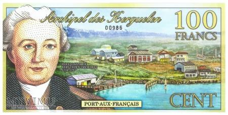 Wyspy Kerguelena - 100 franków (2010)