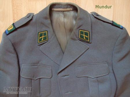 Szwajcarski mundur gabardynowy