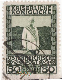 Znaczek Cesarstwa Austriackiego Franz Joseph