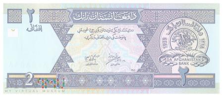 Afganistan - 2 afgani (2002)