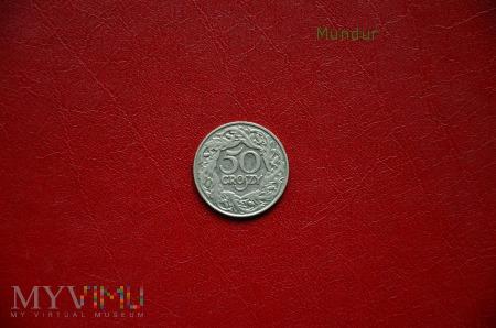 Moneta: 50 groszy 1923