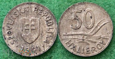 Słowacja, 1941, 50 Halierov