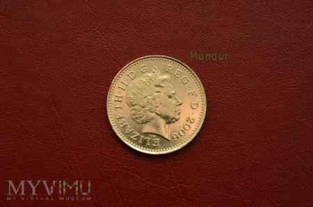 Moneta brytyjska: 10 pence 2006