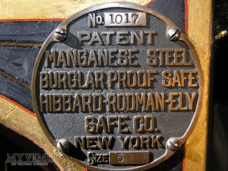 Hibbard-Rodman-Ely Safe