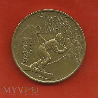Polska 2 złote, 1998 Nagano Olympic