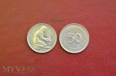 Moneta niemiecka: 50 pfennig
