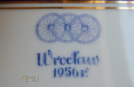 Duże zdjęcie Wazon Wyścig Pokoju 1956 Wrocław