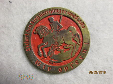 Rycerz i smok.Odznaka WHW