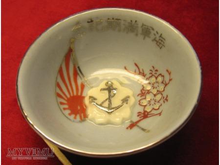 Duże zdjęcie Miseczka do sake - Cesarska Marynarka Wojenna.