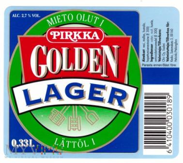 Pirkka, golden lager