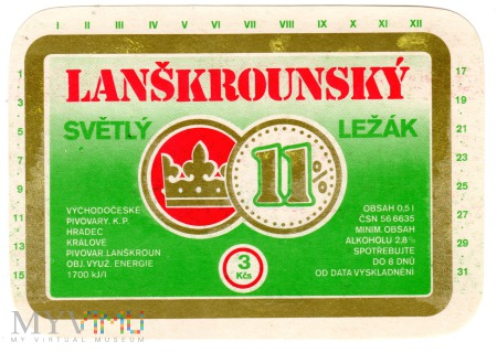 Lanškrounský Svĕtlý Ležák