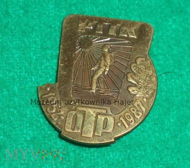 Duże zdjęcie PTTK OTP 1952-1987 - odznaka