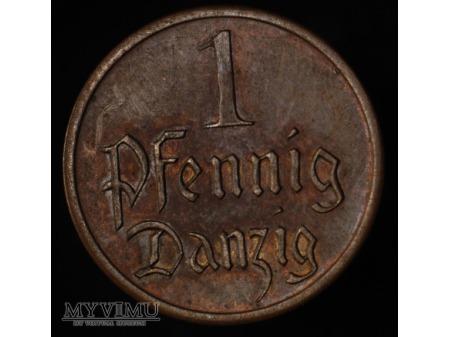 Duże zdjęcie 1 fenig 1923 FALS
