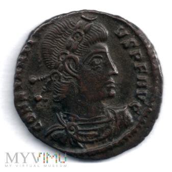 Duże zdjęcie Cesarstwo Rzym- Konstancjusz II follis 337- 340 r