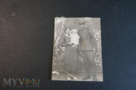 Zdjęcie rodziny żołnierskiej