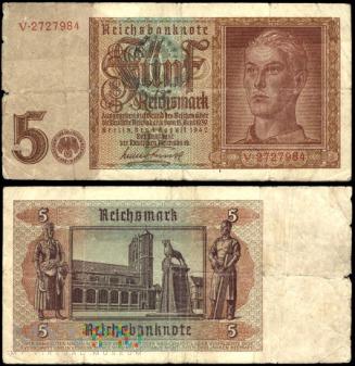 Niemcy, 5 marek 1942r. Ser.V