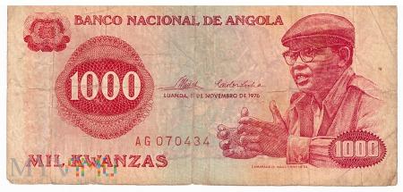 Angola - 1 000 kwanza (1976)