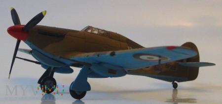 "Samolot Hawker ""Hurricane"" II D (model 1/72)"