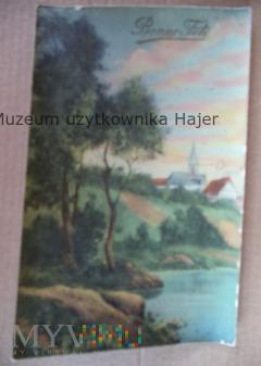 Bonne Fête - kartka pocztowa