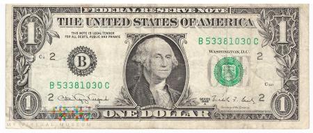 Stany Zjednoczone - 1 dolar (1988)