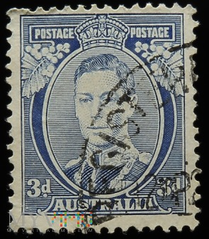 Australia 3d Jerzy VI