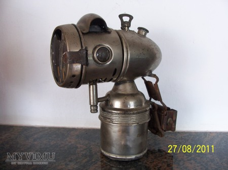Duże zdjęcie LAMPA KARBIDOWA NA ROWER - Köhlers