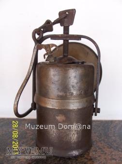 LAMPA GÓRNICZA KARBIDOWA - TYP 850csm - 1943