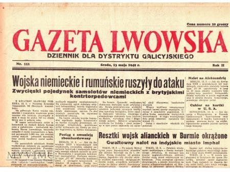 Gazeta Lwowska (13 V 1942)