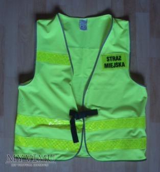 Kamizelka ostrzegawcza Straży Miejskiej