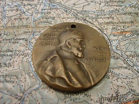Medal Jubileuszowy Wilhelma I (1794 - 1897)