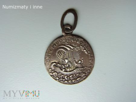 Duże zdjęcie medal ze św. Jerzym
