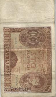 100 zł polska 1934