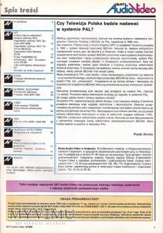 SAT AUDIO VIDEO 1993 rok, cz.II