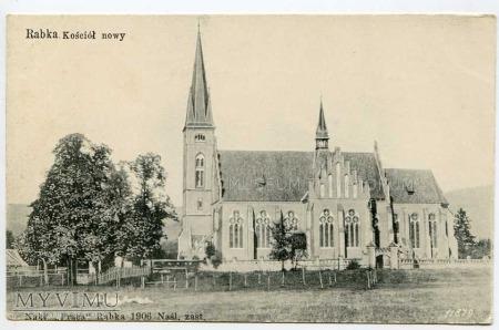 Rabka 1906. Kościół nowy