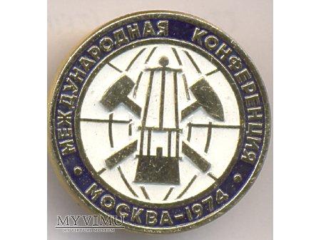 Miedzynarodowa Konferencja Górnicza Moskwa 74