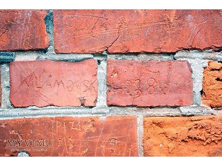 """Duże zdjęcie """"Stara Prochownia"""" - budynek A - inskrypcja #024"""