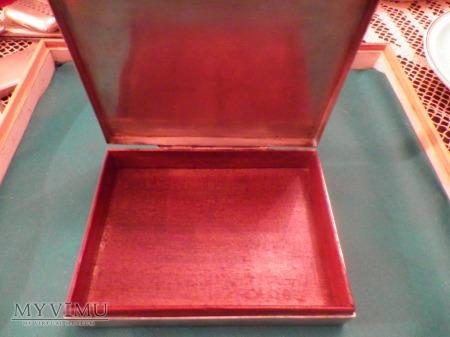 Herb Jelita-pudełko na cygara,srebro