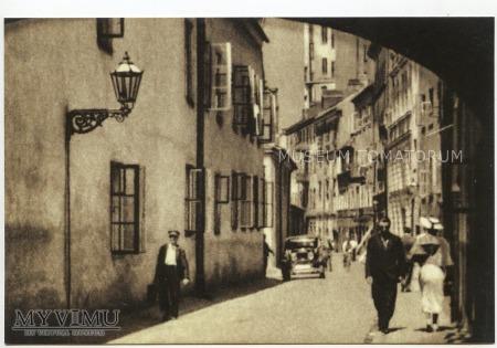 Duże zdjęcie W-wa - Stare Miasto - ul. Kozia - 1920-te