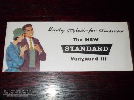 Prospekt STANDARD VANGUARD ESTATE CAR