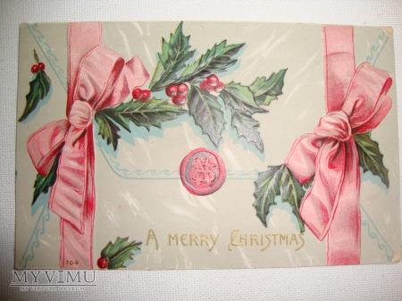 1909 kartka świąteczna