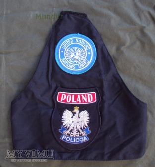 Naramiennik ONZ - policja